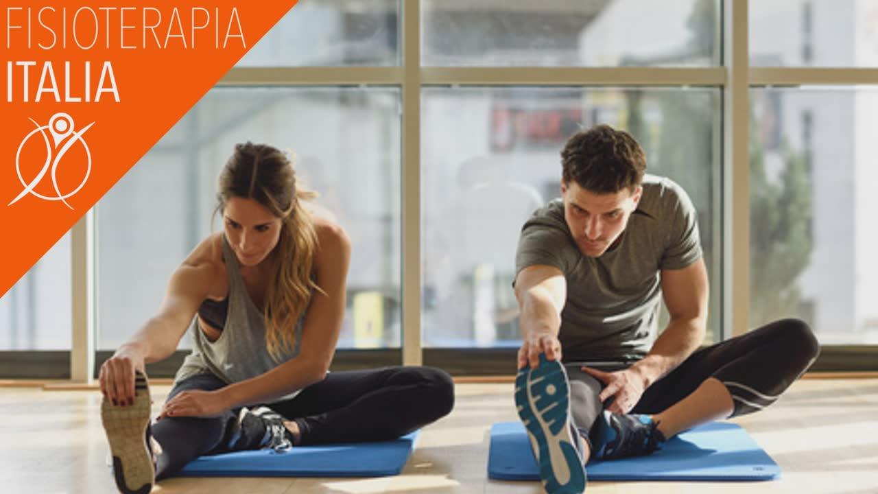 allenamento terapeutico esercizi stretching