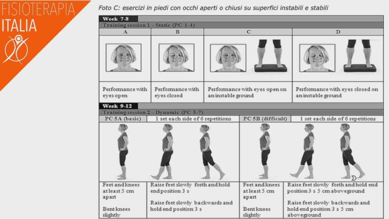 artrosi esercizi