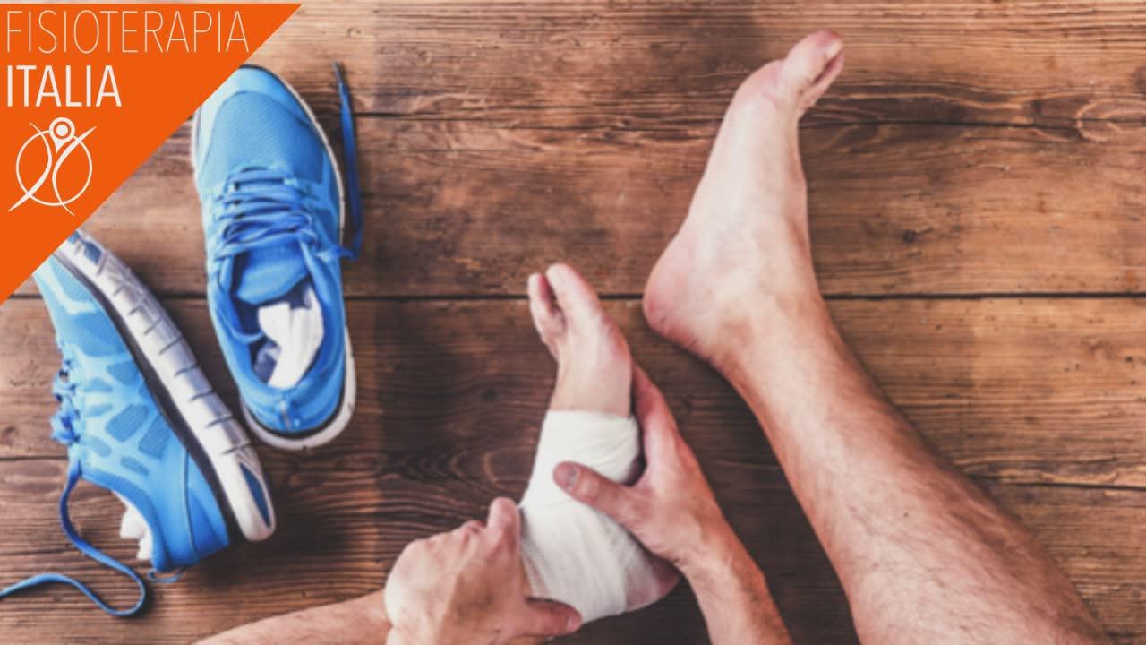 caviglie gonfie terapie fisioterapia
