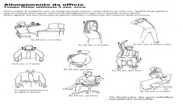 cervicale allungamento da ufficio