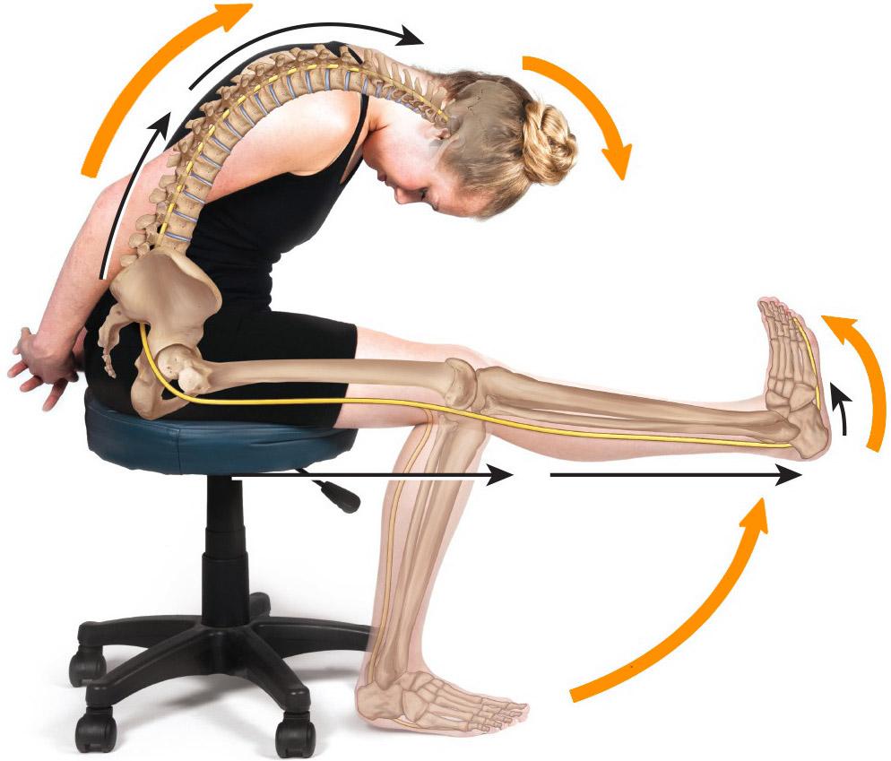 dolore-ginocchio-slump-test