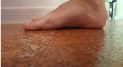 esercizi piede corto