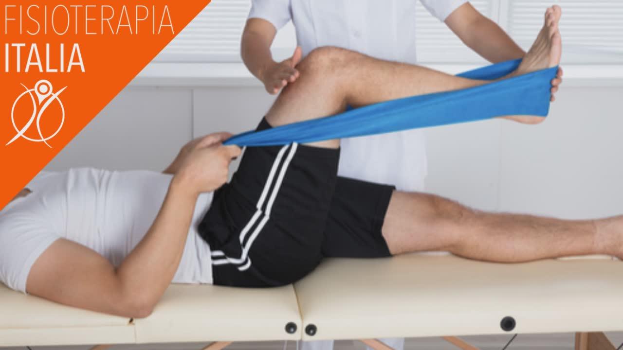 esercizio terapeutico per le fratture del femore