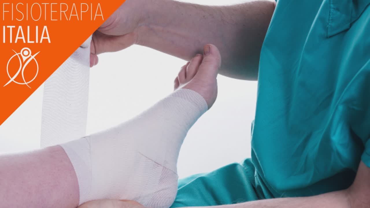fisioterapia distorsione caviglia