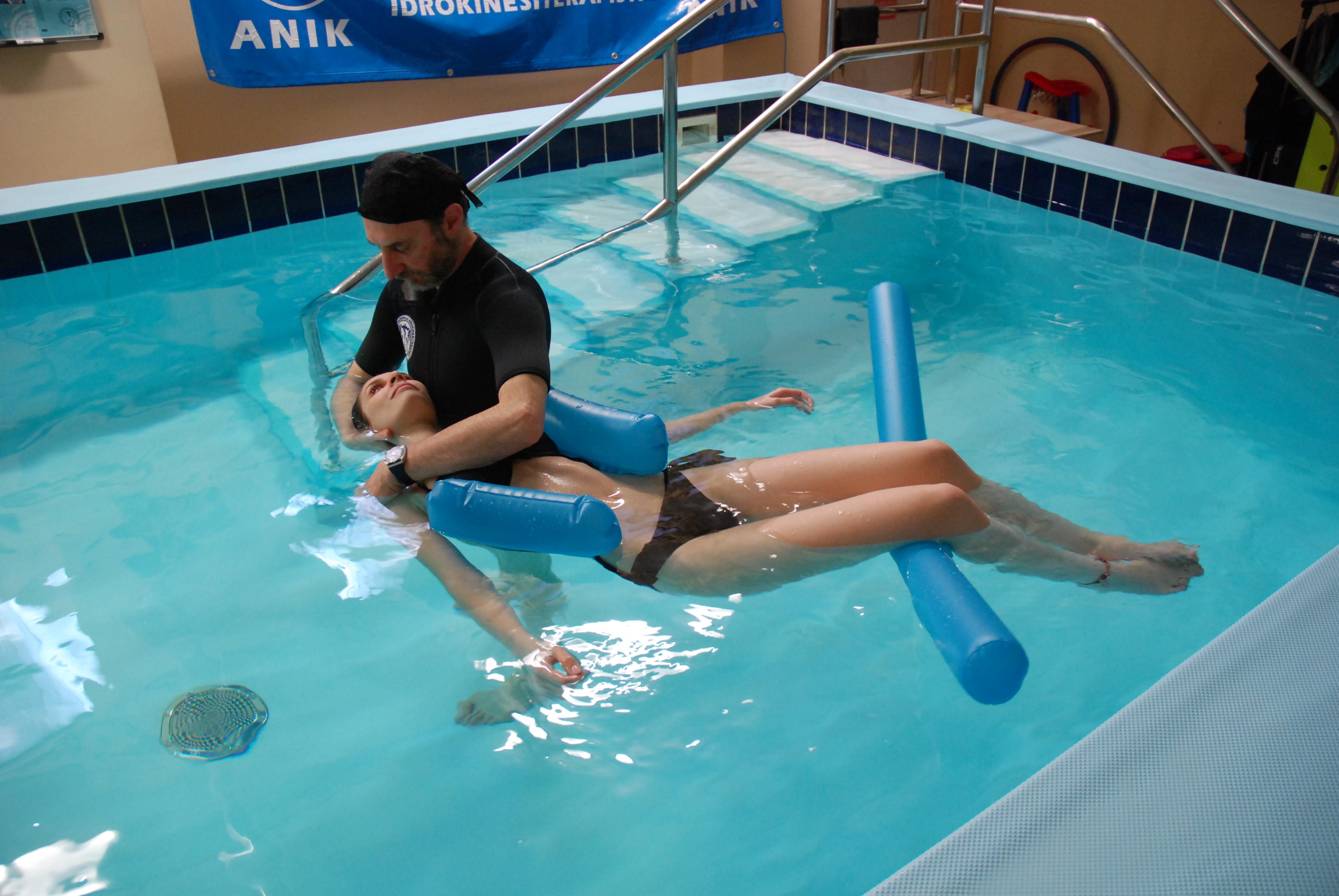 idrokinesiterapia schemi cognitivi fisici in acqua