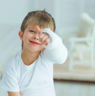 la riabilitazione pediatrica nelle fratture dei bambini