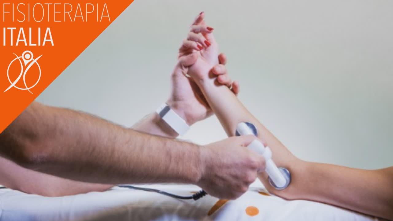 la tecarterapia per la borsite al gomito