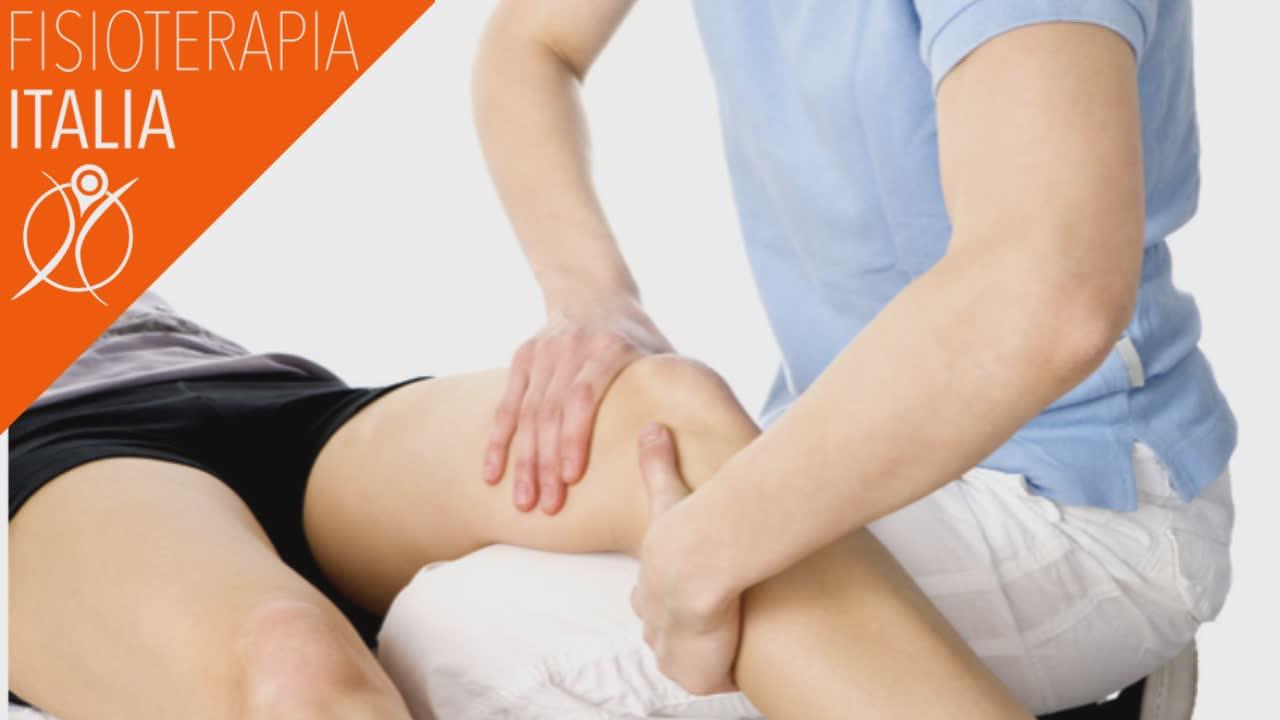 manipolazioni articolari per la sindrome femoro rotulea