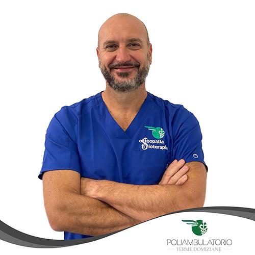 DARIO MOLINARI - Fisioterapista-osteopata - Poliambulatorio Terme Domiziane
