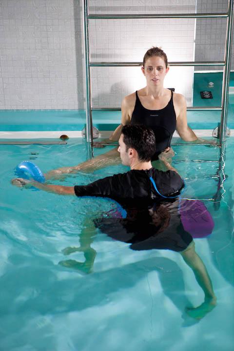 pubalgia come curarla con l'idrokinesiterapia