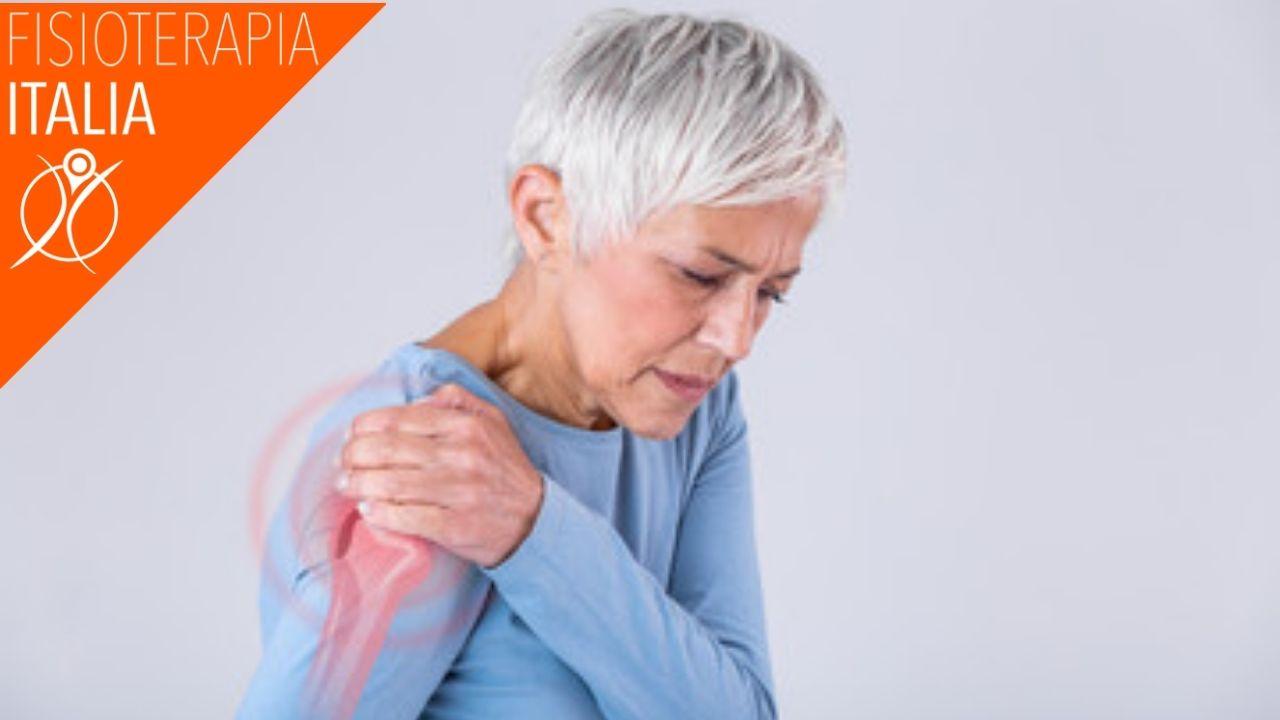 sintomi periartrite alla spalla