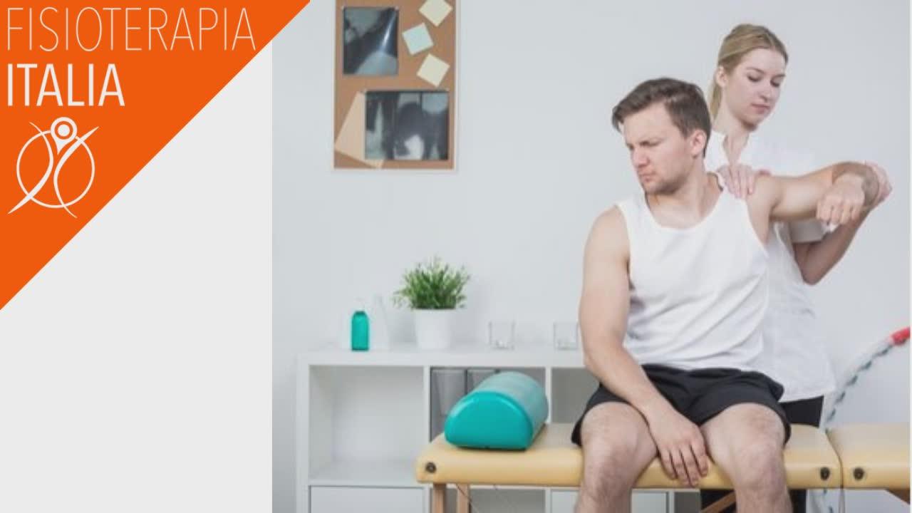 spalla e percorso terapeutico fisioterapico