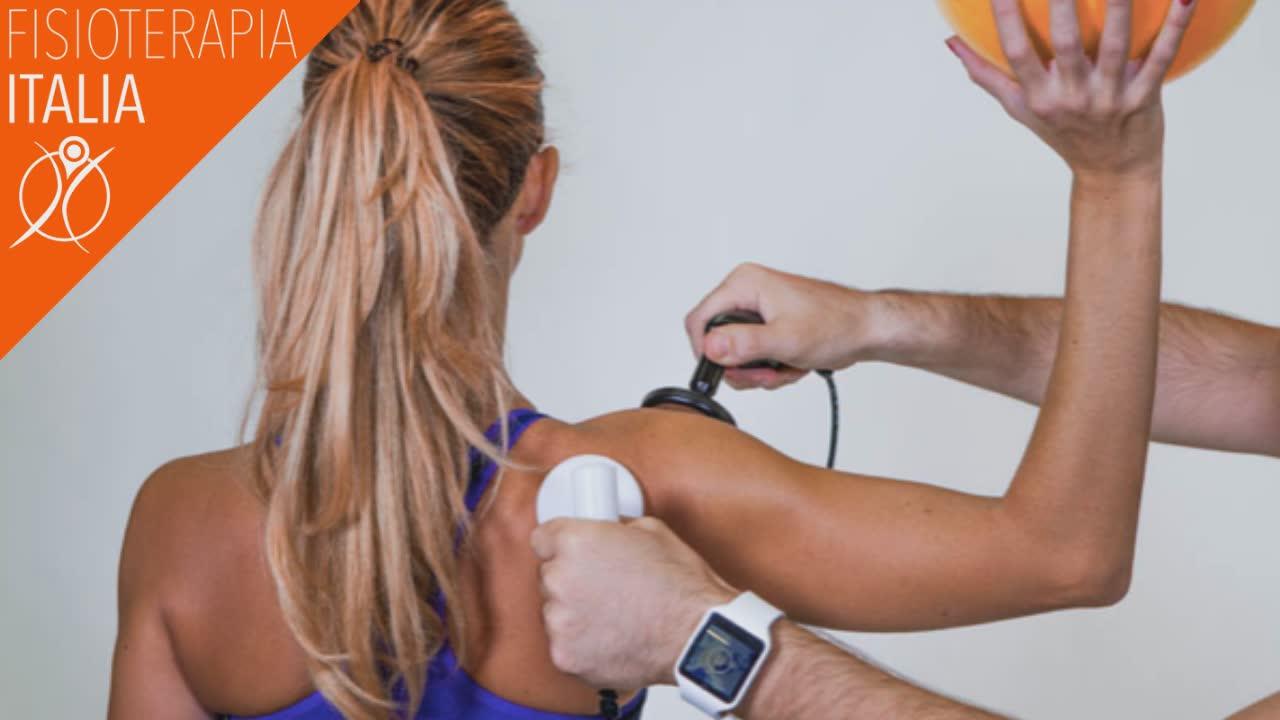 tecarterapia per guarire la spalla di sportivi ed atleti