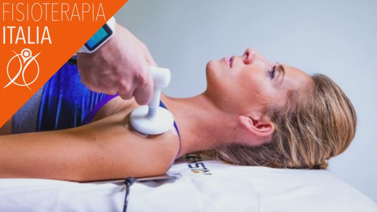 tecarterapia per la cura dell'artrosi della spalla