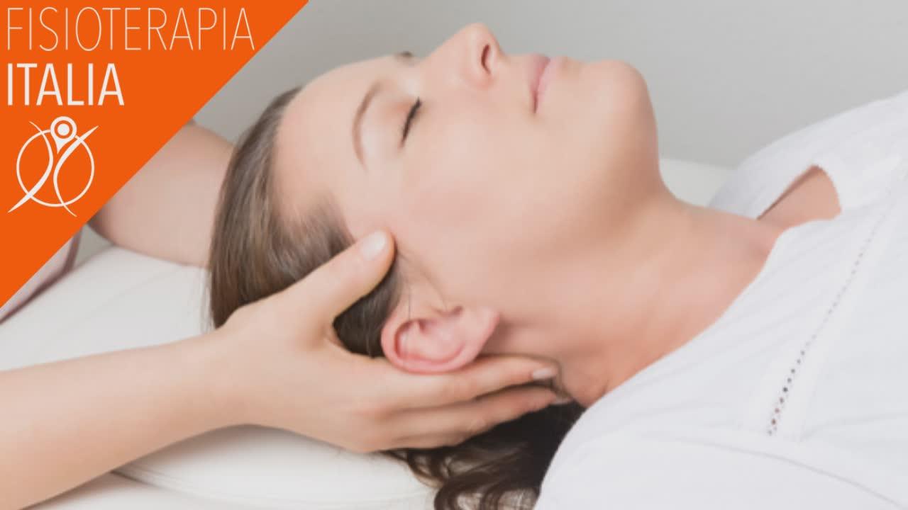 terapia manuale ortopedica per il mal di testa