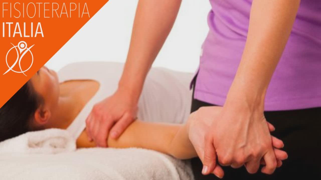 terapia manuale per la borsette del gomito