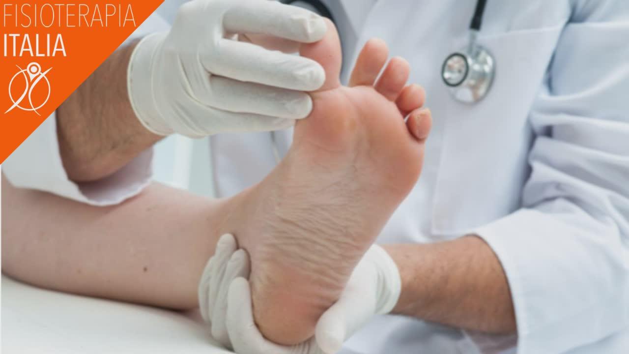 trattamento dolore pianta del piede