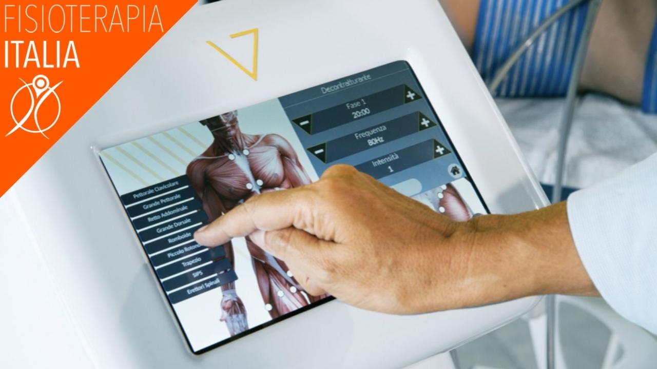 apparecchiature vibrazioni fisioterapia