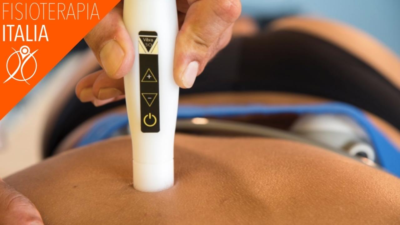 applicazione delle vibrazioni in fisioterapia