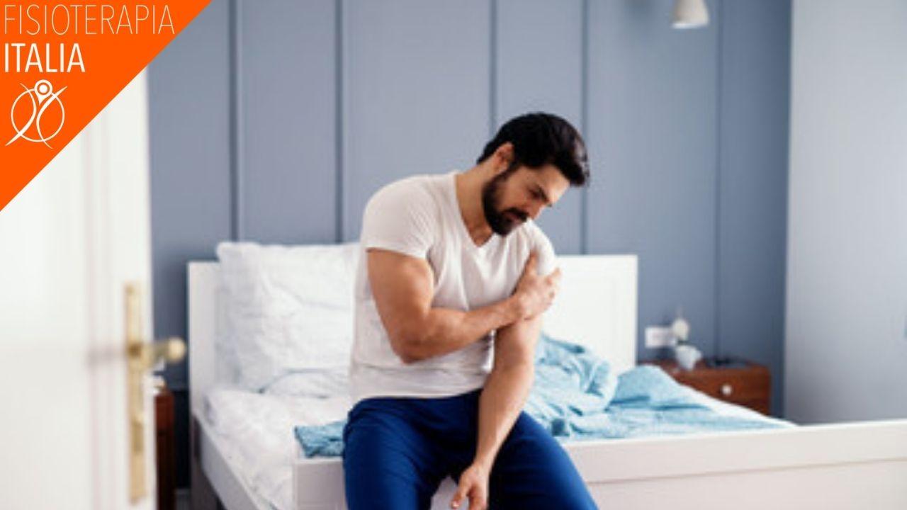 borsite e dolore alla spalla