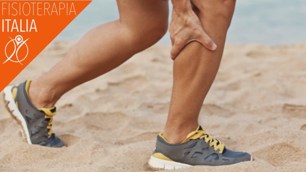 crampi alle gambe e disidratazione