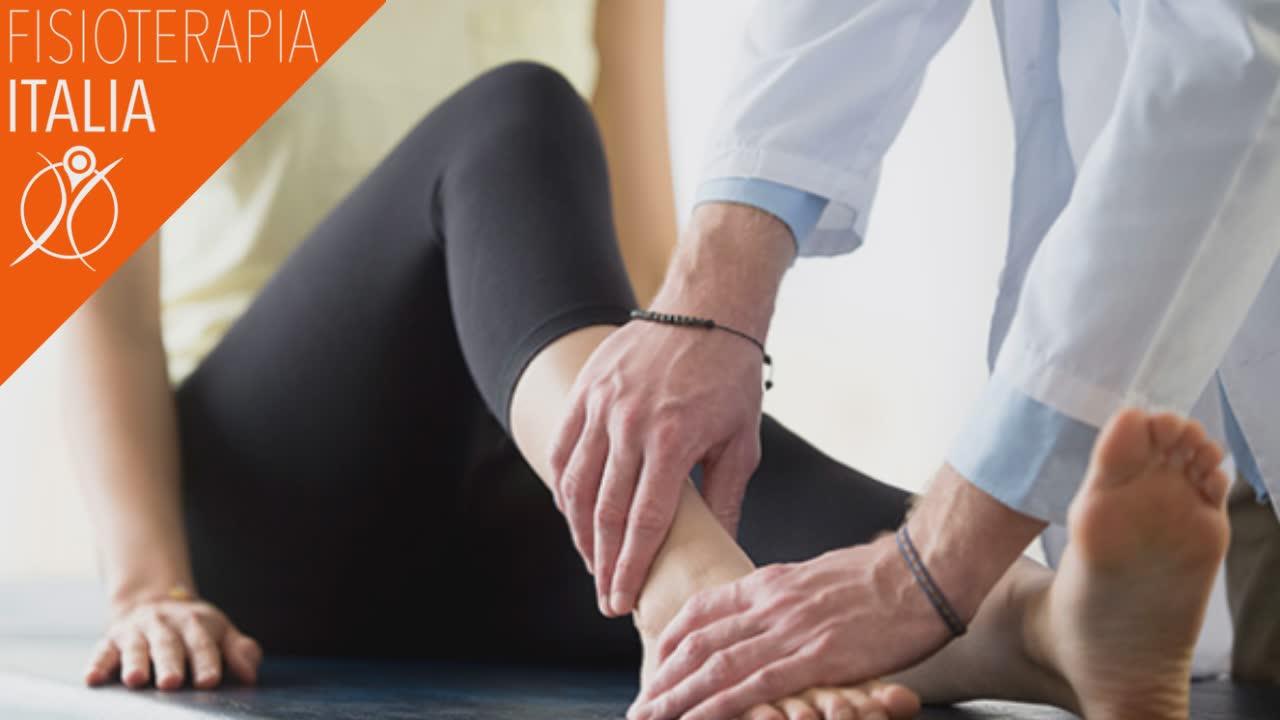 caviglia trattamento del dolore