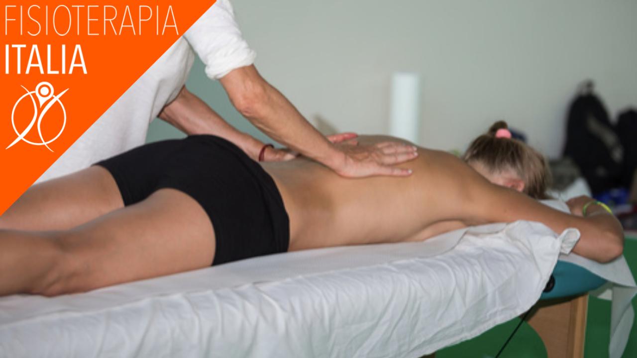 cifosi e trattamento manuale come mantenere in salute il tratto dorsale