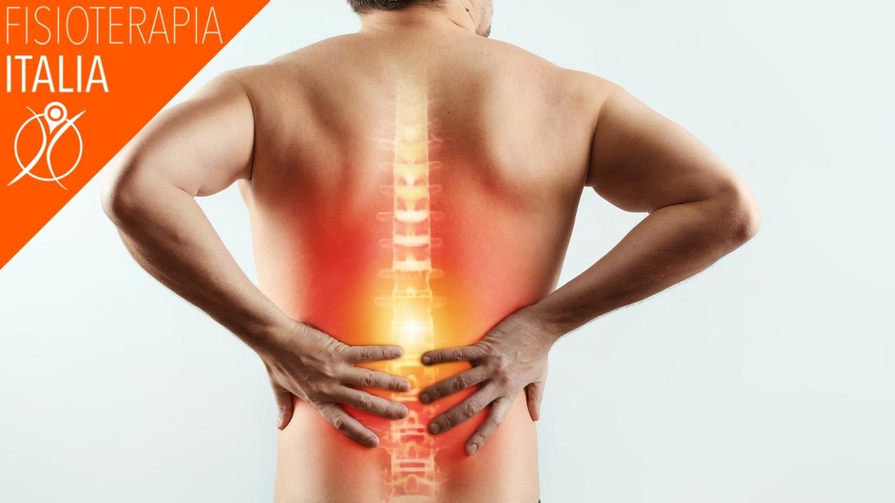 mal di schiena causato dall'infiammazione