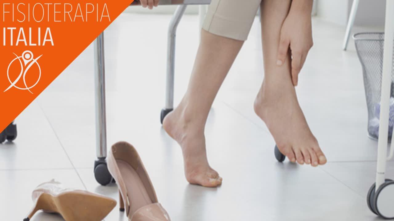 metatarsalgia fattori di rischio e postura sbagliate