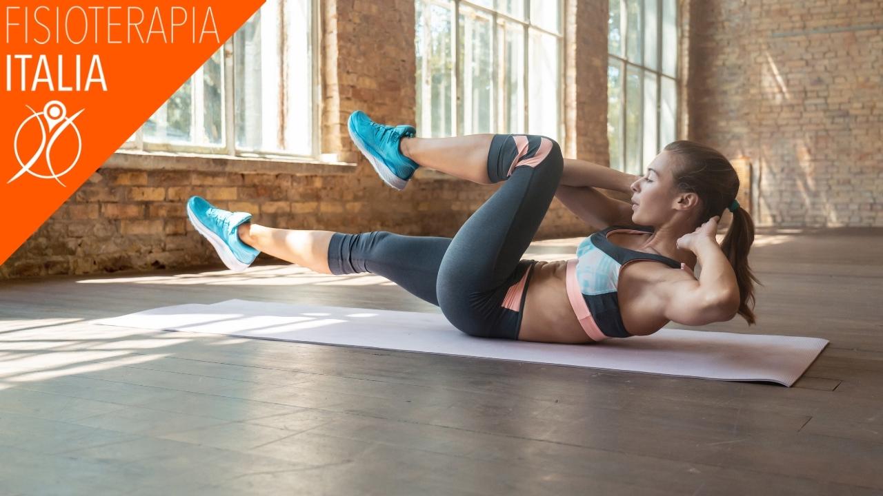 rafforzare i muscoli dell'addome