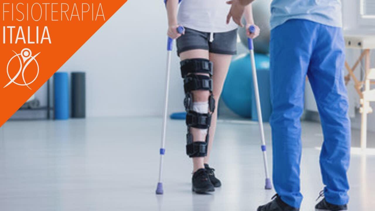 riabilitazione post chirurgica articolazione