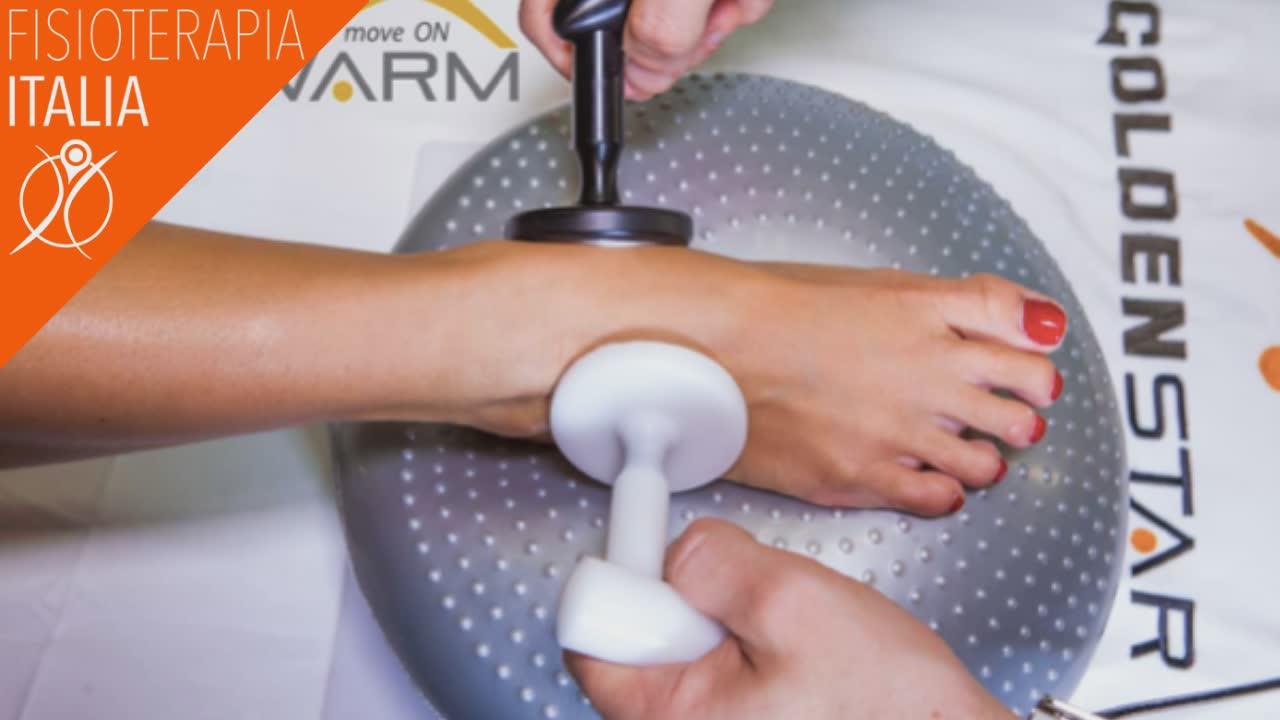 strumento elettromedicale che può aiutare a guarire da patologie della caviglia.