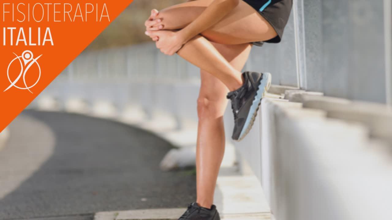versamento del ginocchio nella sindrome femoro rotula